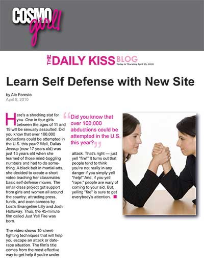 Learn Self Defense with New Site