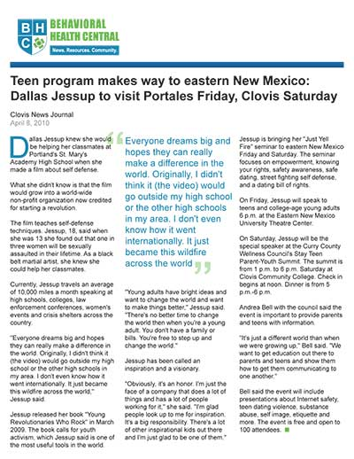 Teen program makes way to eastern New Mexico