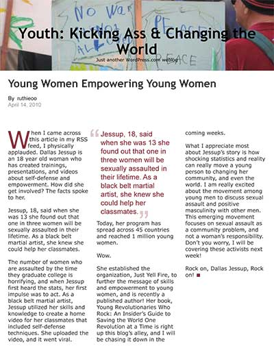 Young Women Empowering Young Women