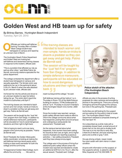 Golden West and HB team up for safety