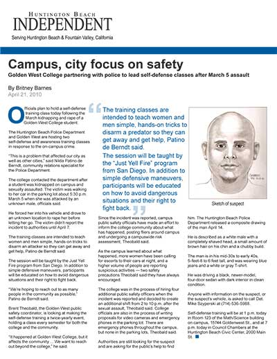 Campus, city focus on safety