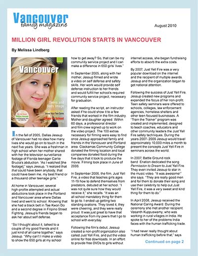 Million Girl Revolution Starts in Vancouver