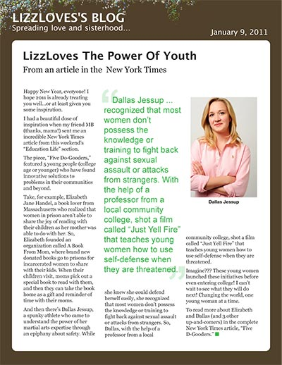LizzLoves The Power of Youth