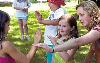 Girl Scouts Learn self-defense
