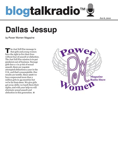 Dallas on Power Women Magazine