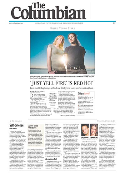 Rising Young Stars: 'Just Yell Fire' is Red Hot