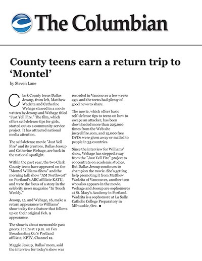 County teens earn a return trip to 'Montel'