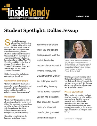 Student Spotlight: Dallas Jessup