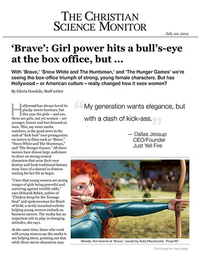 'Brave': Girl power hits a bull's-eye at the box office, but ...