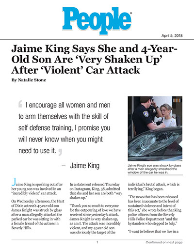 Jaime King Says She and 4-Year-Old Son Are 'Very Shaken Up' After 'Violent' Car Attack