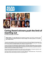 Caring Award winners push the limit of reaching out