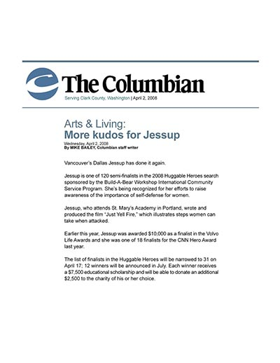 More Kudos for Jessup