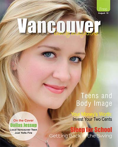 Vancouver Family Magazine Cover Story