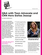 Q&A with Teen Advocate and CNN Hero Dallas Jessup