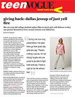 Giving Back: Dallas Jessup of Just Yell Fire