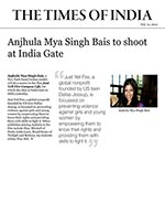 Anjhula Mya Singh Bais to Shoot at India Gate
