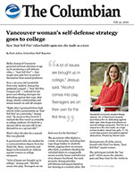 Vancouver woman's self-defense strategy goes to college