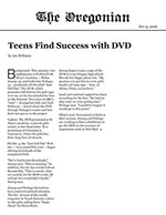 Teens find success with DVD
