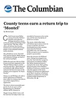 County teens earn a return trip to 'Montel'