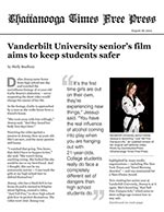 Vanderbilt University senior's film aims to keep students safer