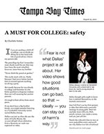 A Must for College: safety