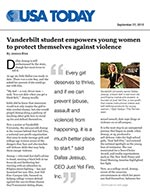 College student empowers young women to protect themselves
