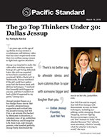 The 30 Top Thinkers Under 30: Dallas Jessup