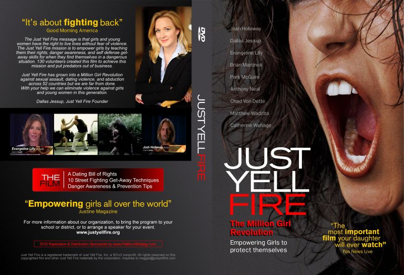 Just Yell Fire DVD